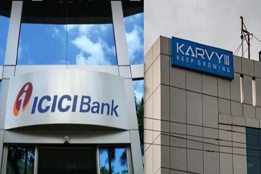 ICICI bank files cheating case against Karvy Stock Broking