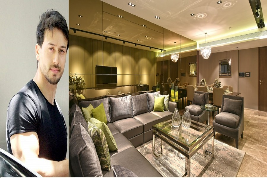 Tiger Shroff shifts to new home with family
